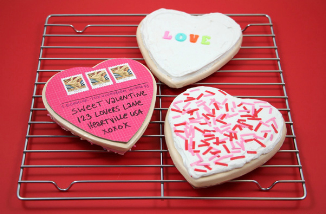 Diy Valentine Cookie Card