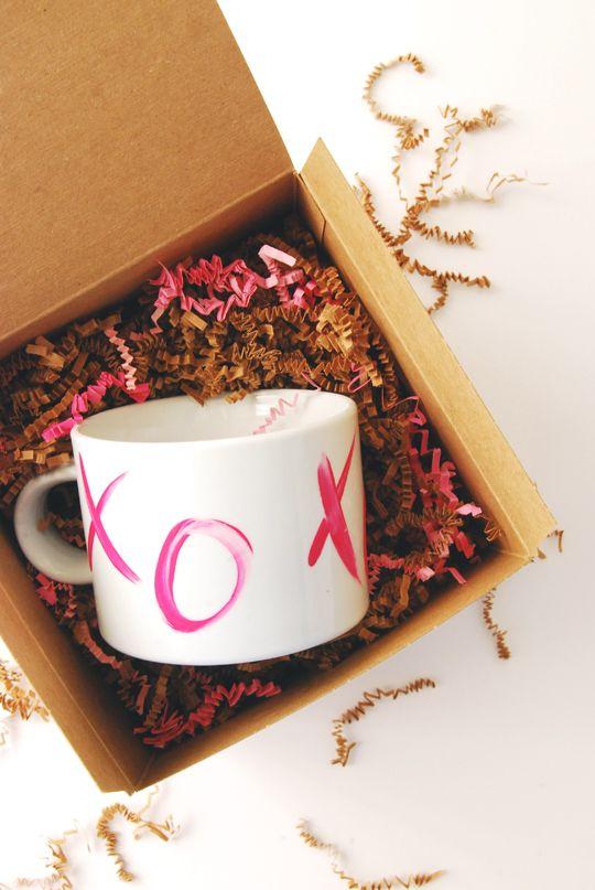 DIY xo mug