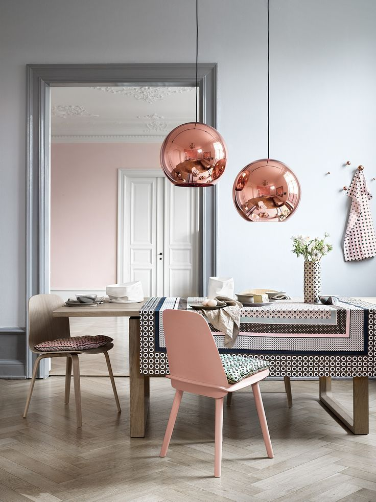 For some people, when it comes to dusty pink, it's all about the accents.