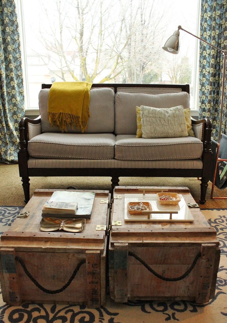 Eclectic Style Coffee Table