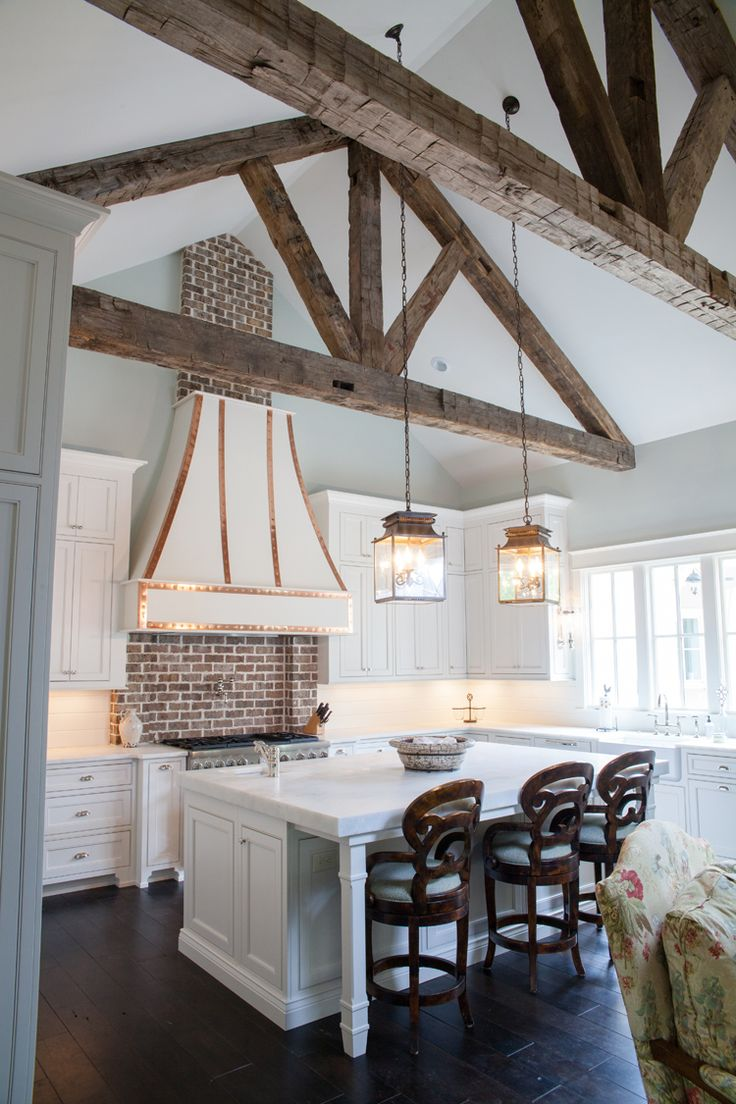 Expose your rusticity with exposed beams for Adding wood beams to ceiling