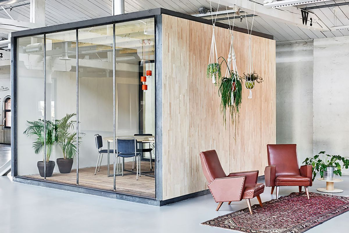 Meeting Room Design Ideas Part - 50: Fairphone Head Office Meeting Box Room