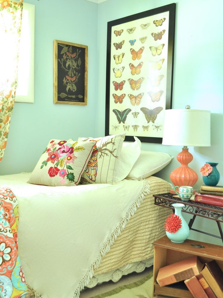 Boho Home Decor Ideas Part - 17: Feminine Touch Bedroom