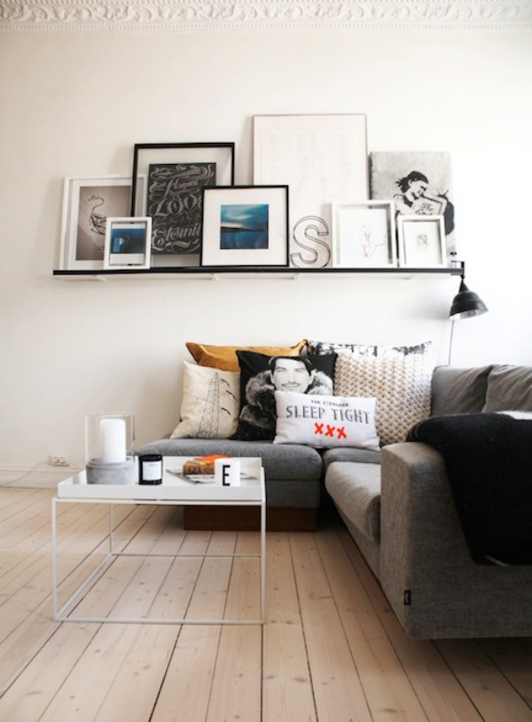 Utilize what you 39 ve got with these 20 small living room - Small room decor ideas ...