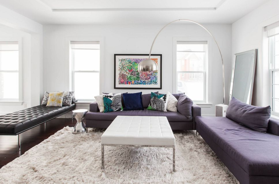 How To Make A Statement With Black And White Rugs