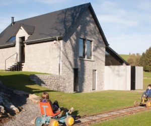 Old Train Station Becomes A Rentable Holiday Home In Belgium