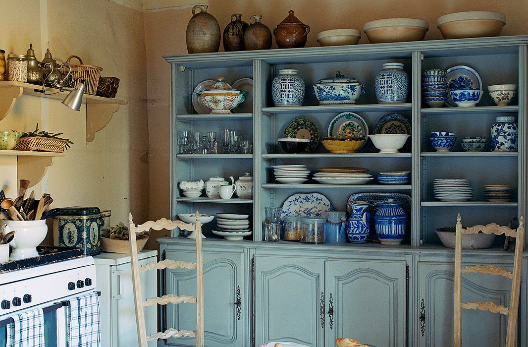French Home Decorating Ideas Part - 35: French Country Open Shelves