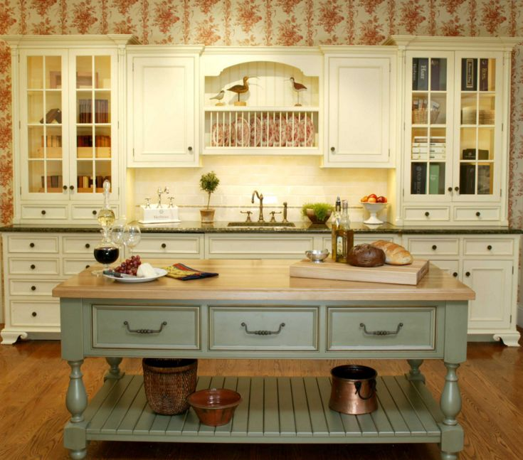 wallpaper in kitchen ideas charming ideas country decorating ideas 22645