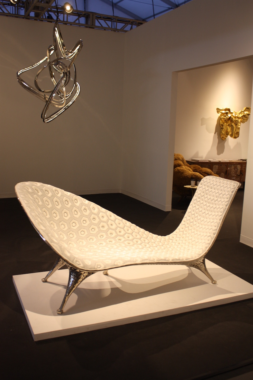 A modern chaise that is also very elegant can be versatile. This one by young Dutch designer Joris Laarman is called the Microstructure Chaise.