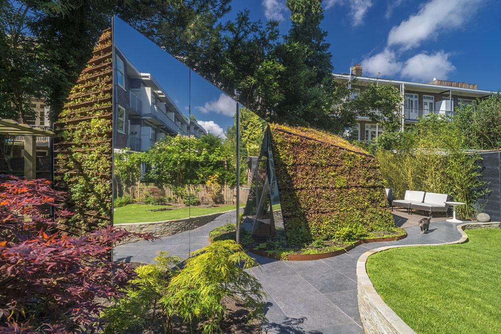 Garden studio in Amsterdam Watergraafsmeer Mirror
