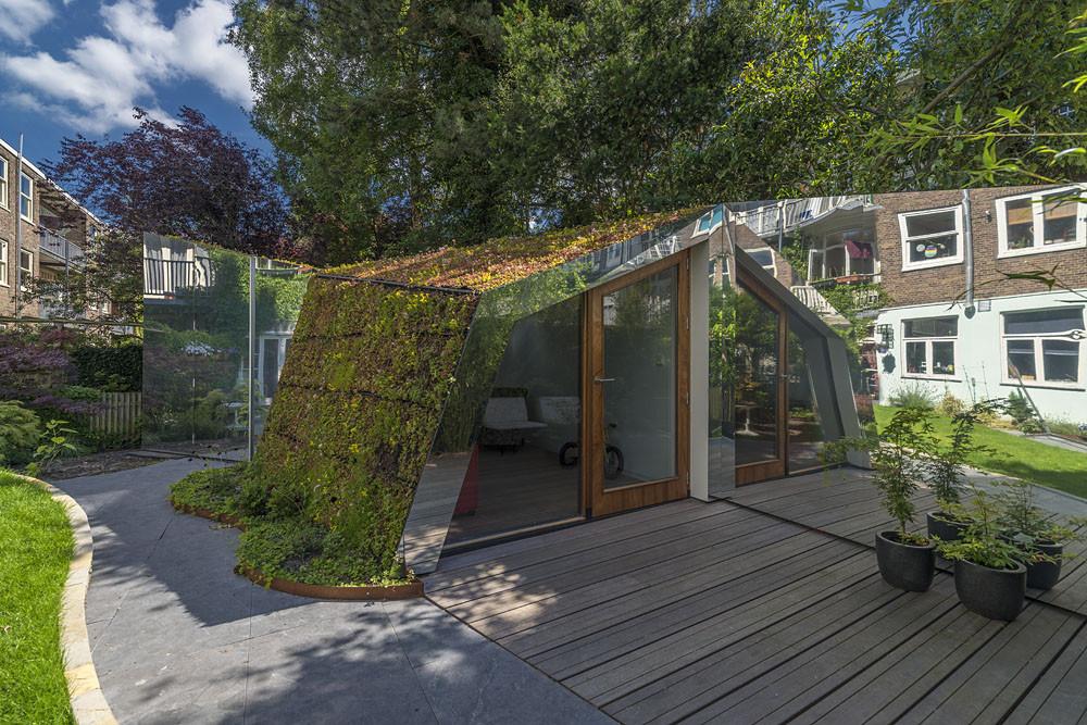 Garden studio in Amsterdam Watergraafsmeer Small Design