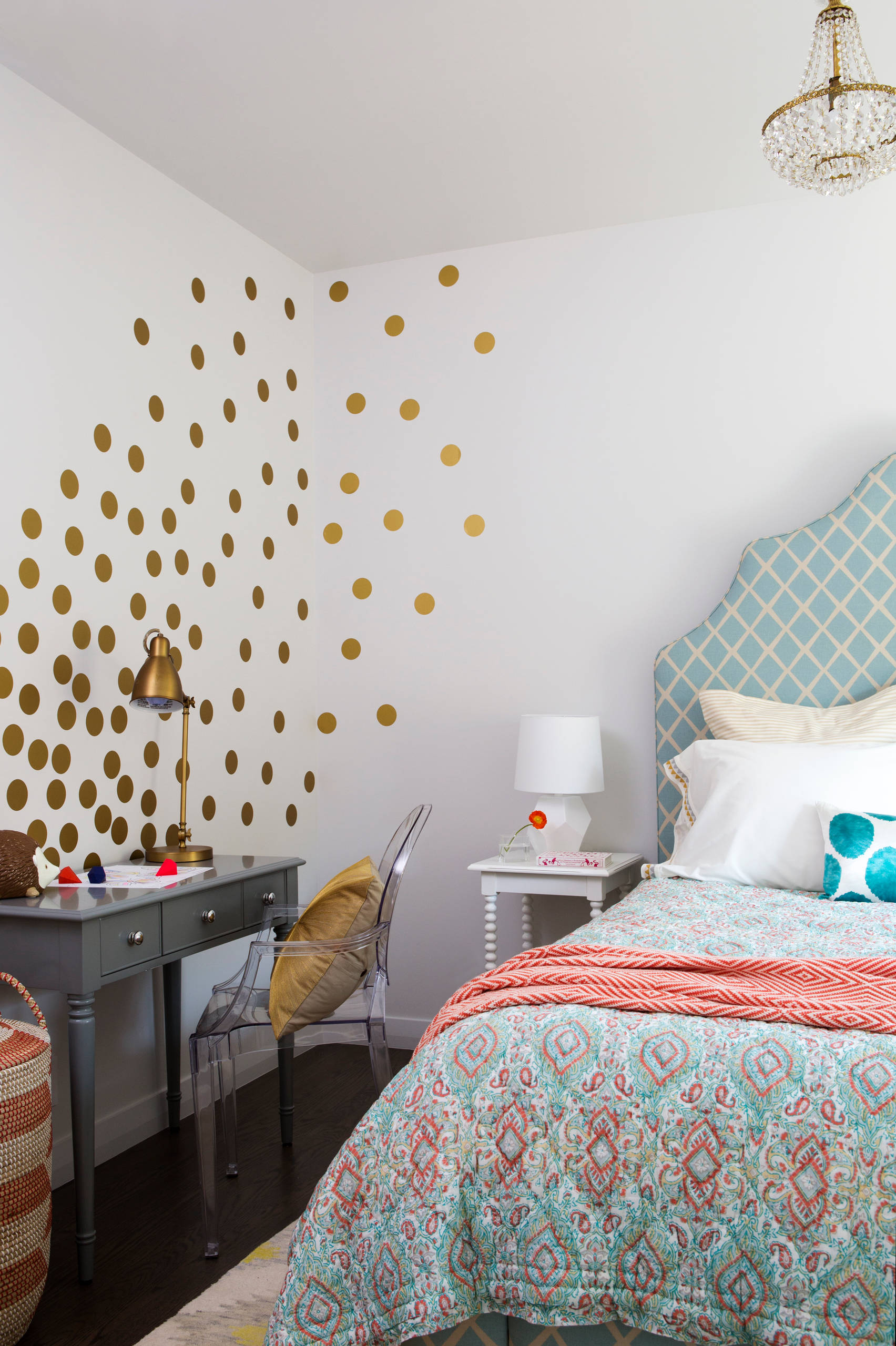 Polka Dot Walls Will Pop Anywhere In Your Home