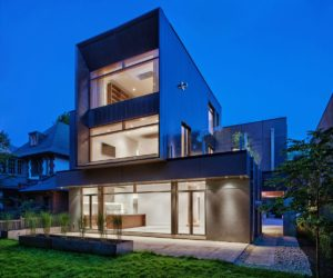 Intriguing Family Home Built On Contrasts And Elegance