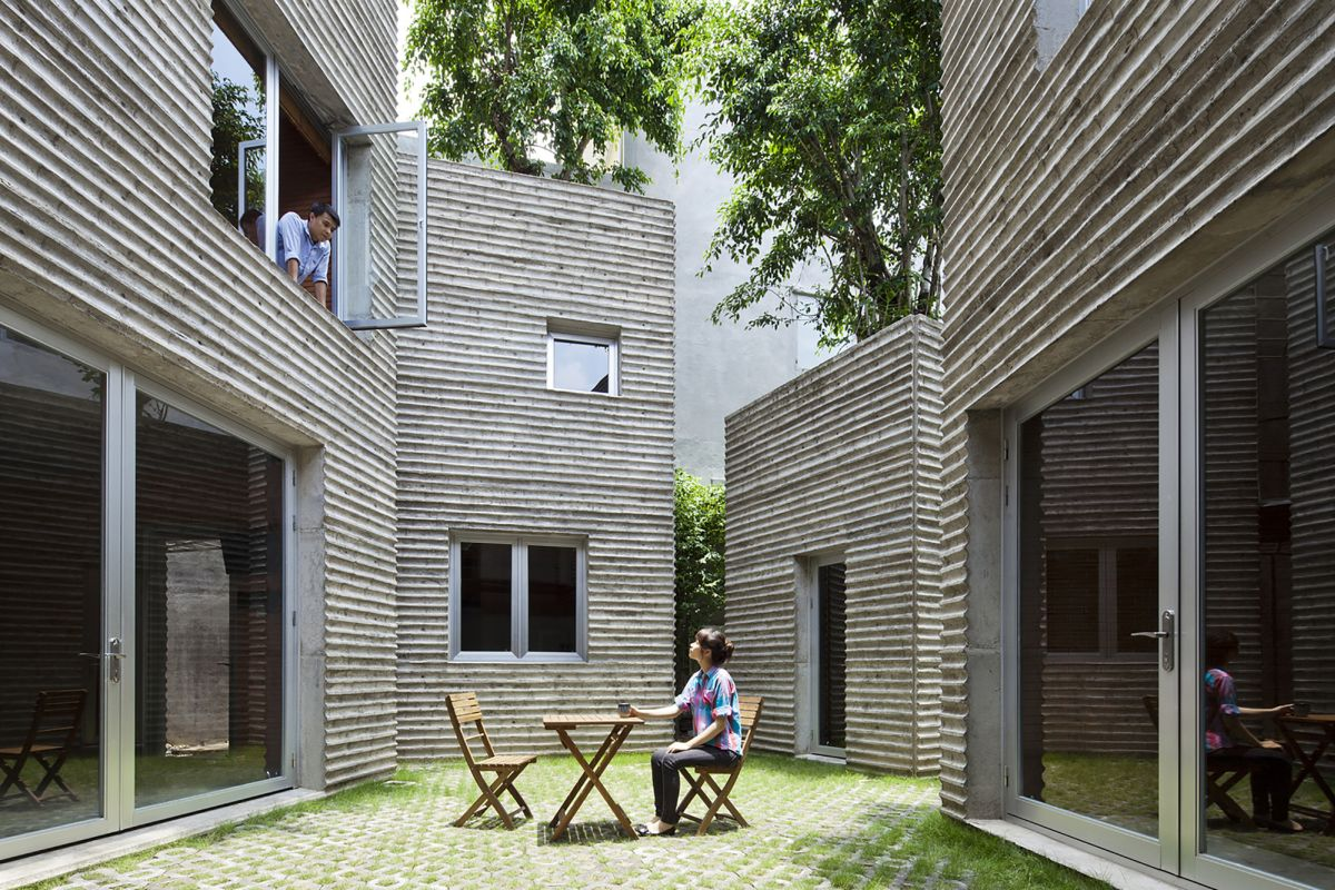 House for Trees from Vo Trong Nghia Architects Interior