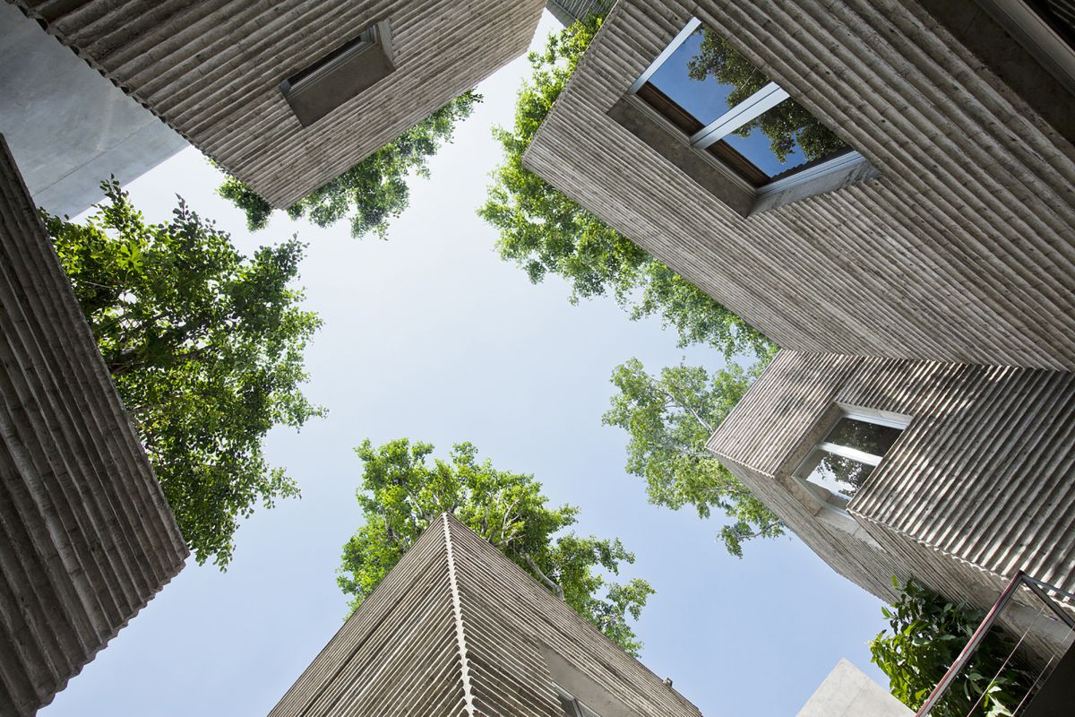 House for Trees from Vo Trong Nghia Architects Sky