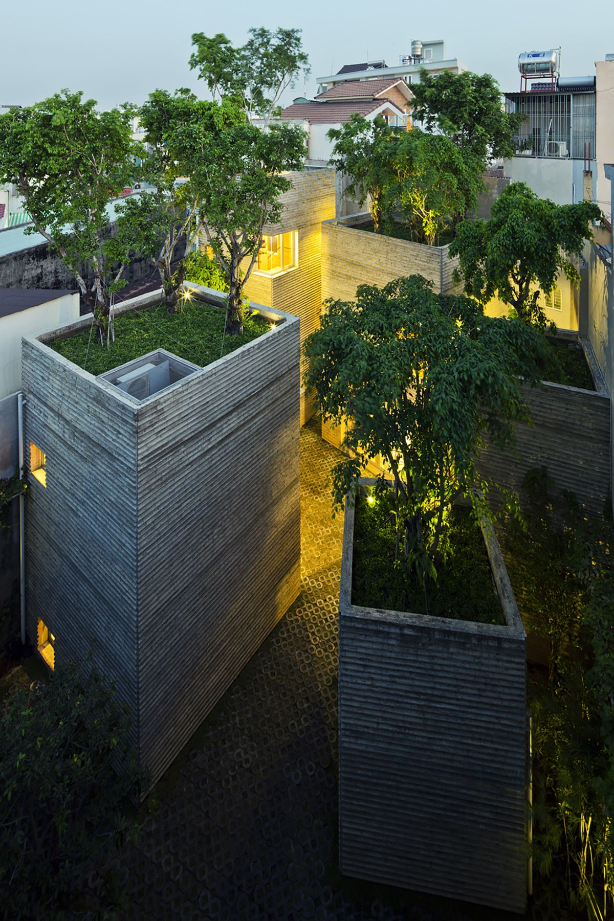 House for Trees from Vo Trong Nghia Architects Trees