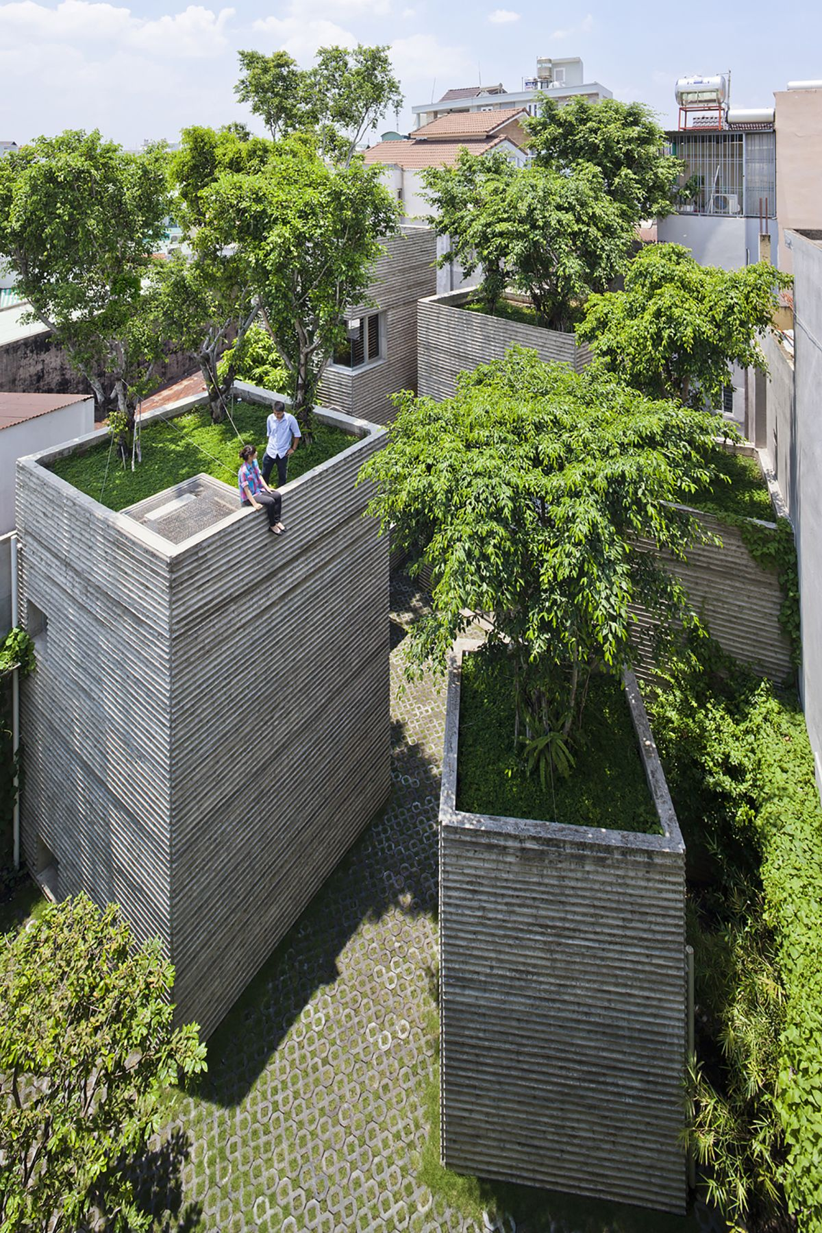 House for Trees from Vo Trong Nghia Architects