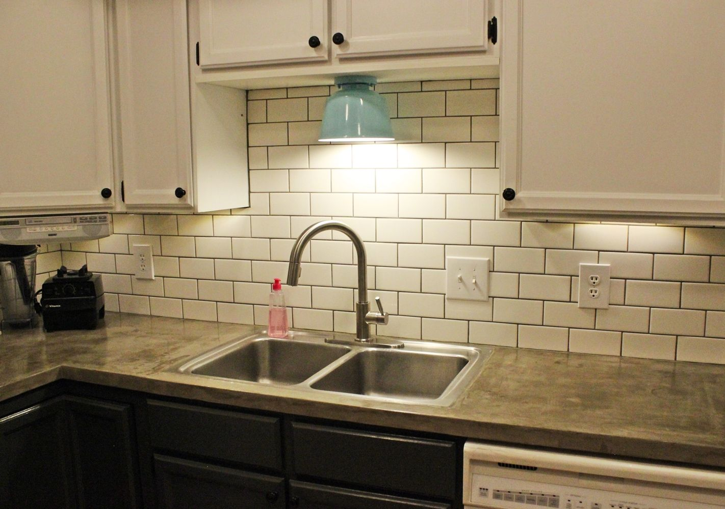 How to install a kitchen sprayer faucet