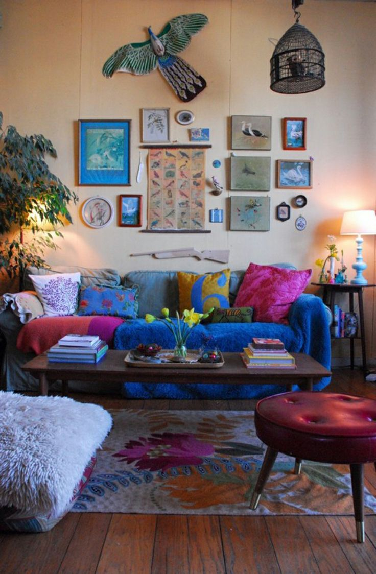living room interior decorating ideas.  20 Dreamy Boho Room Decor Ideas