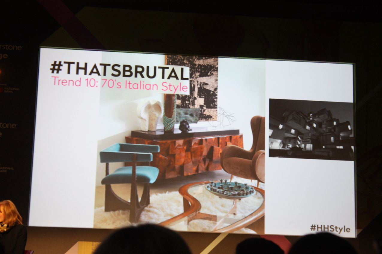 Italian Style trends from Design Show in Toronto from Suzanne Dimma