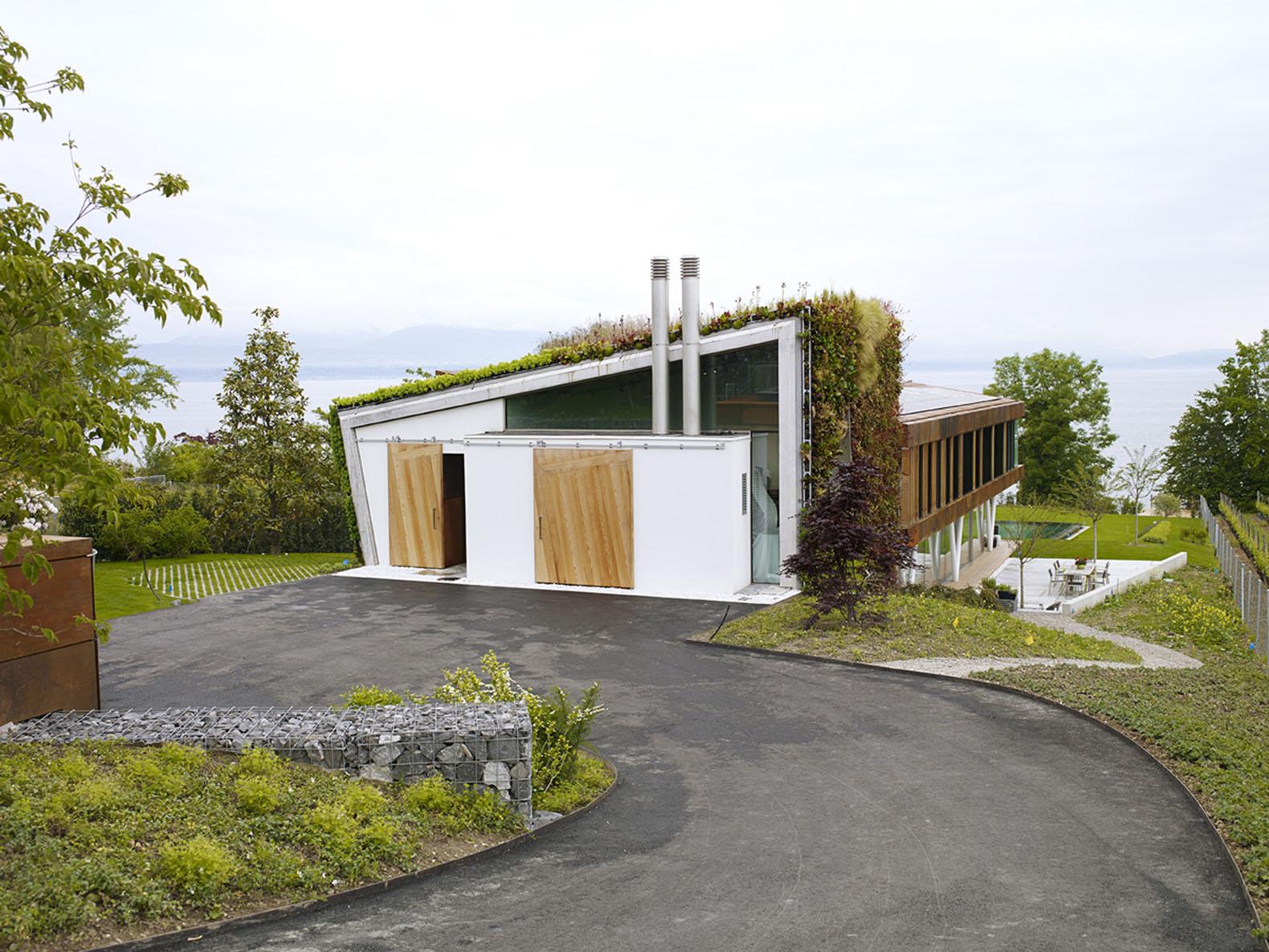 Jewel Box Villa in Switzerland