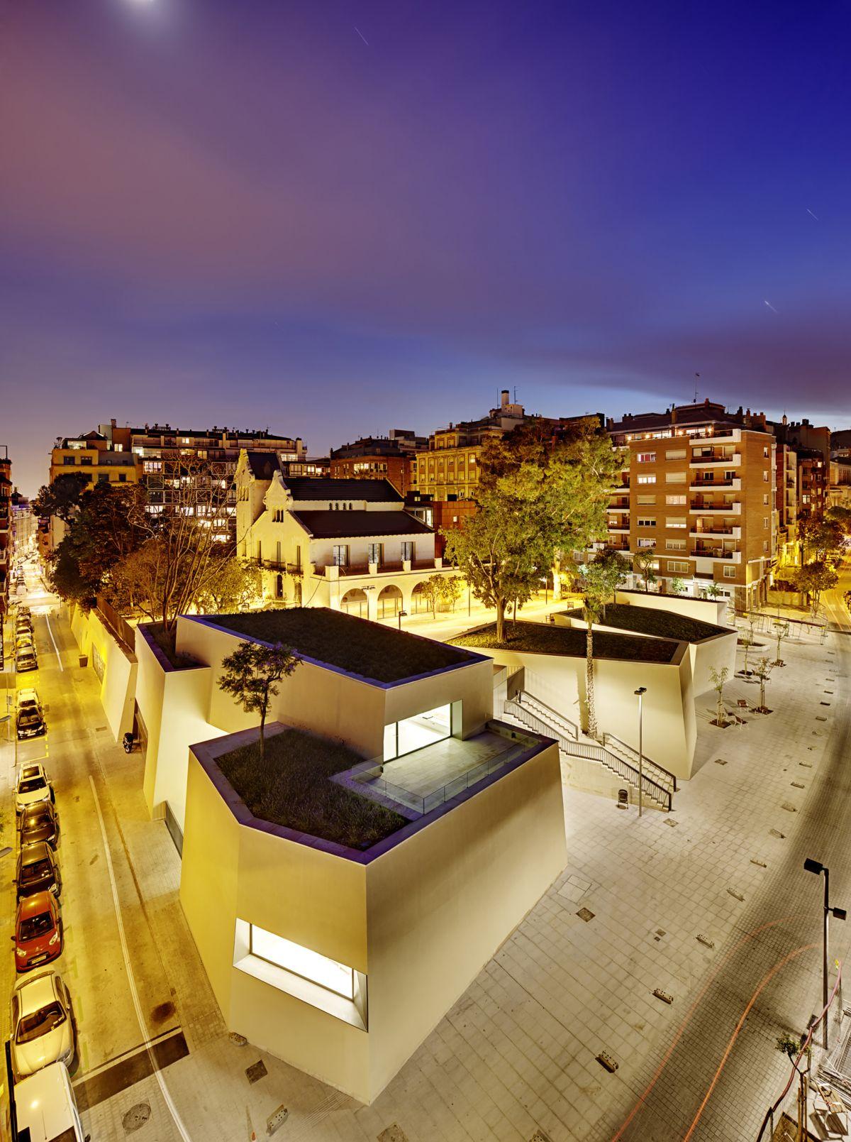 Joan Maragall Library Green Roof