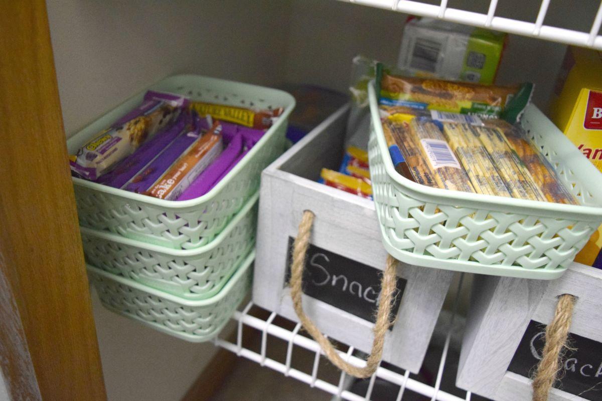 Kids snak storage