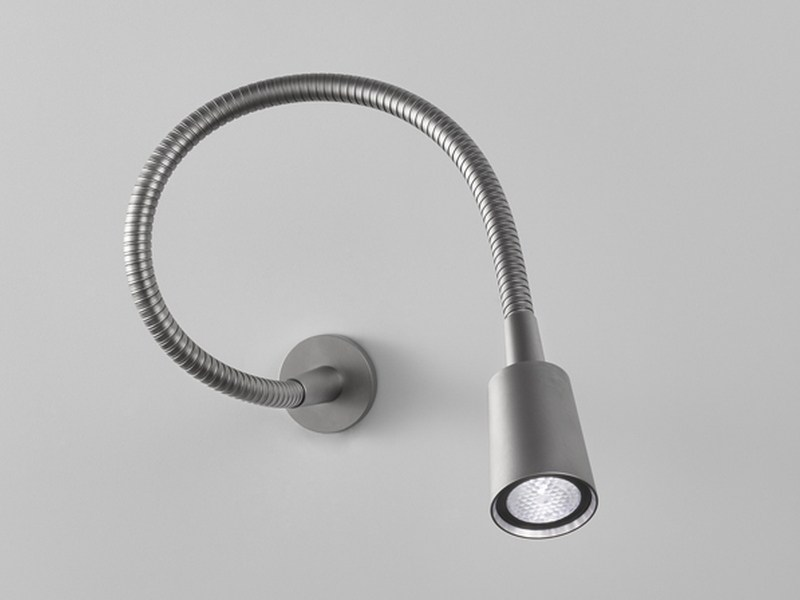 LED reading lamp with swing arm