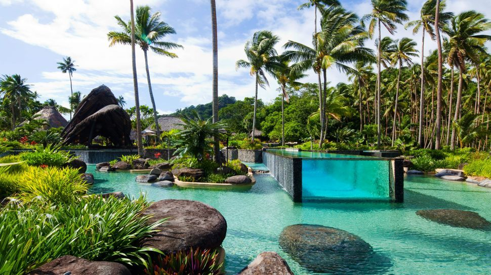Laucala Island Resort Swimming Pool