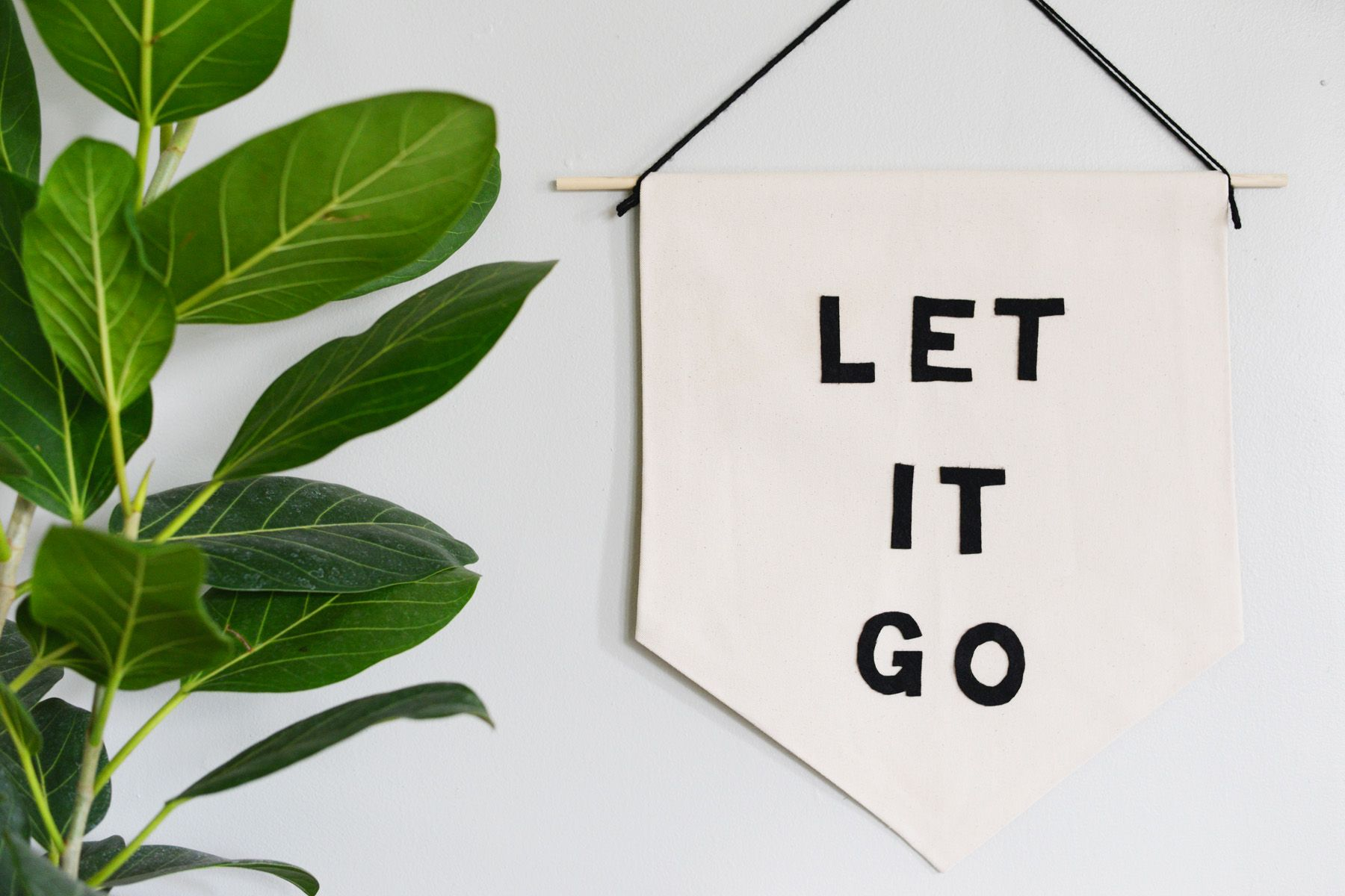 Let it Go Banner - simple design