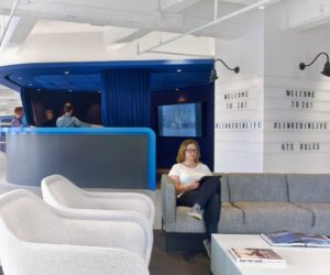 LinkedIn's New York Office Stays Chic Without Using Cliches