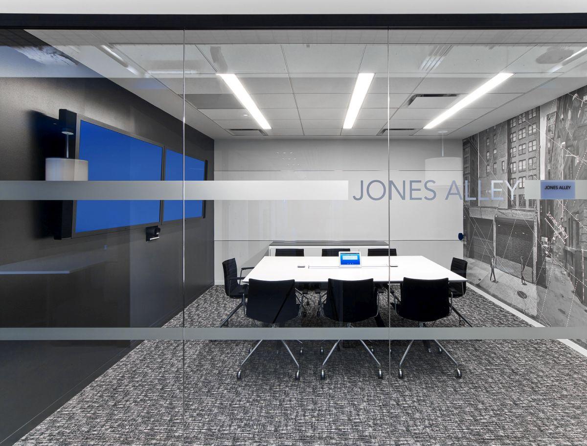 LinkedIn New York Office formal meeting room