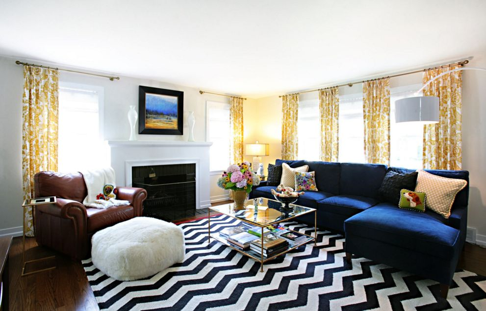 ... Chevron Stripes Can Add A Chic Touch To Any Décor, Their Versatility  Being The Key Part 73
