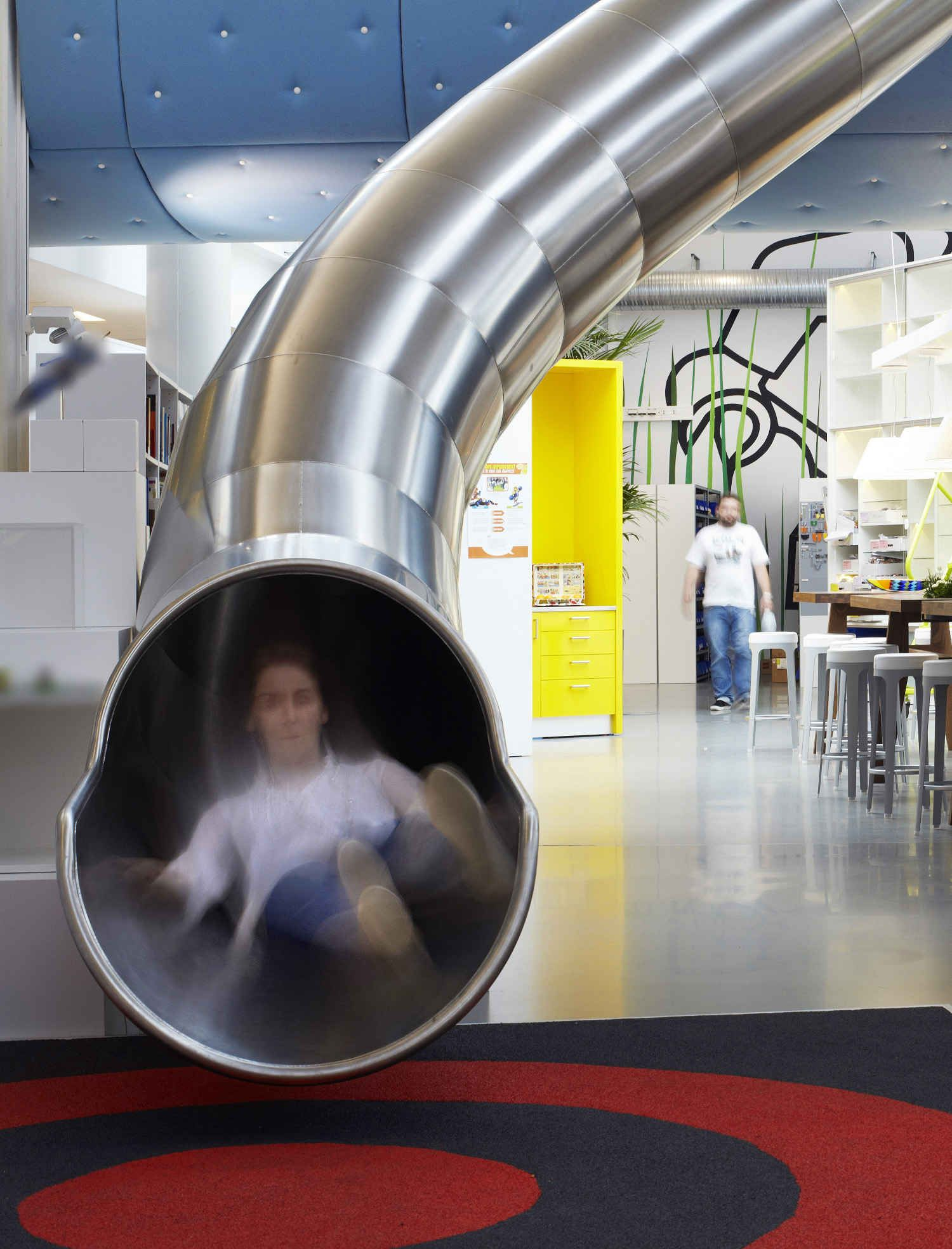 Logo company office with slide