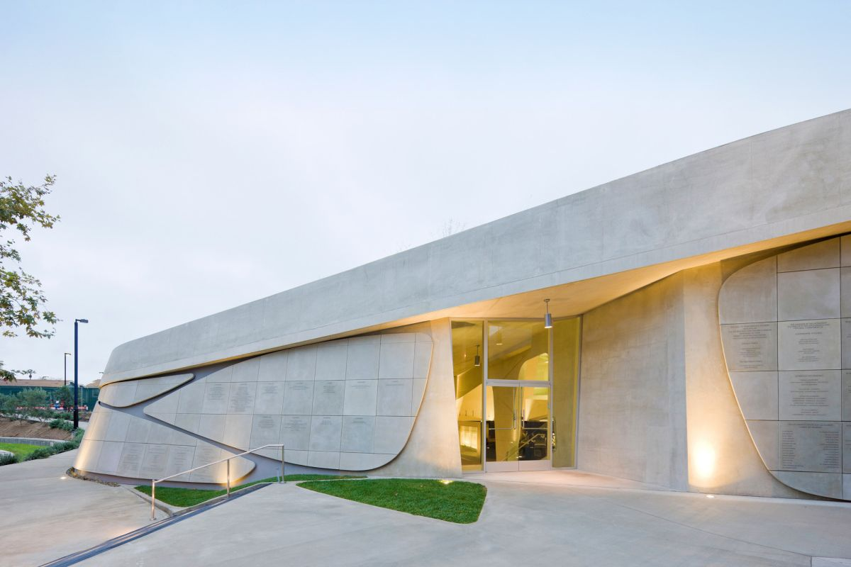 Los Angeles Museum of the Holocaust from Belzberg Architects Facade