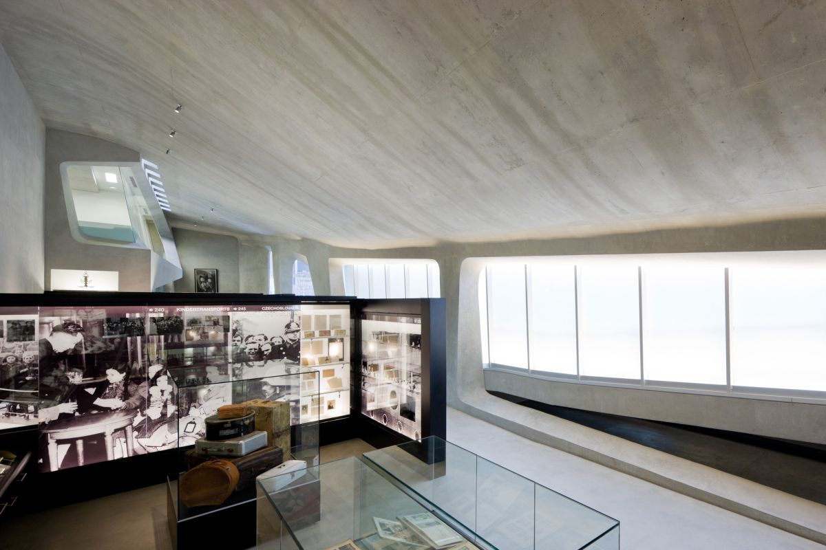 Los Angeles Museum of the Holocaust from Belzberg Architects Interior