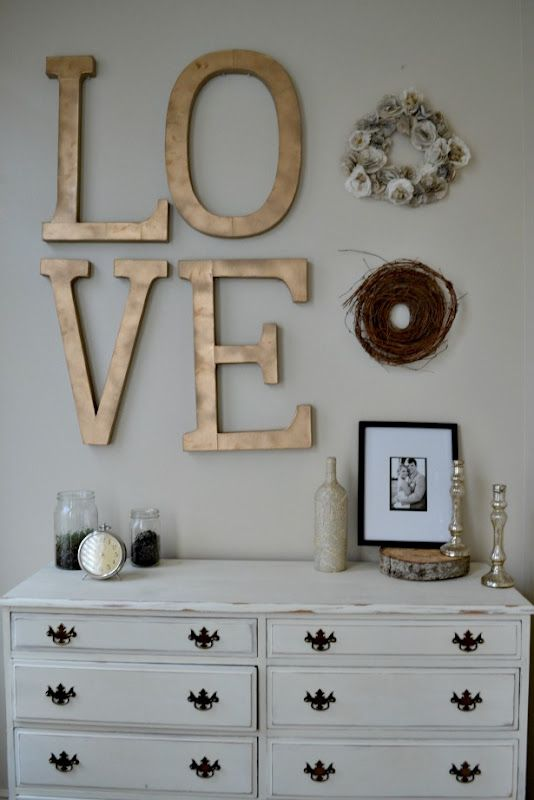 Great Love Words For Bedroom Wall Decor