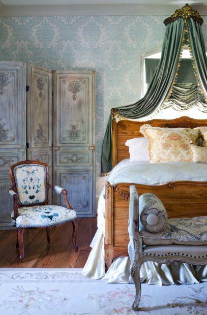 Luxury bedding style