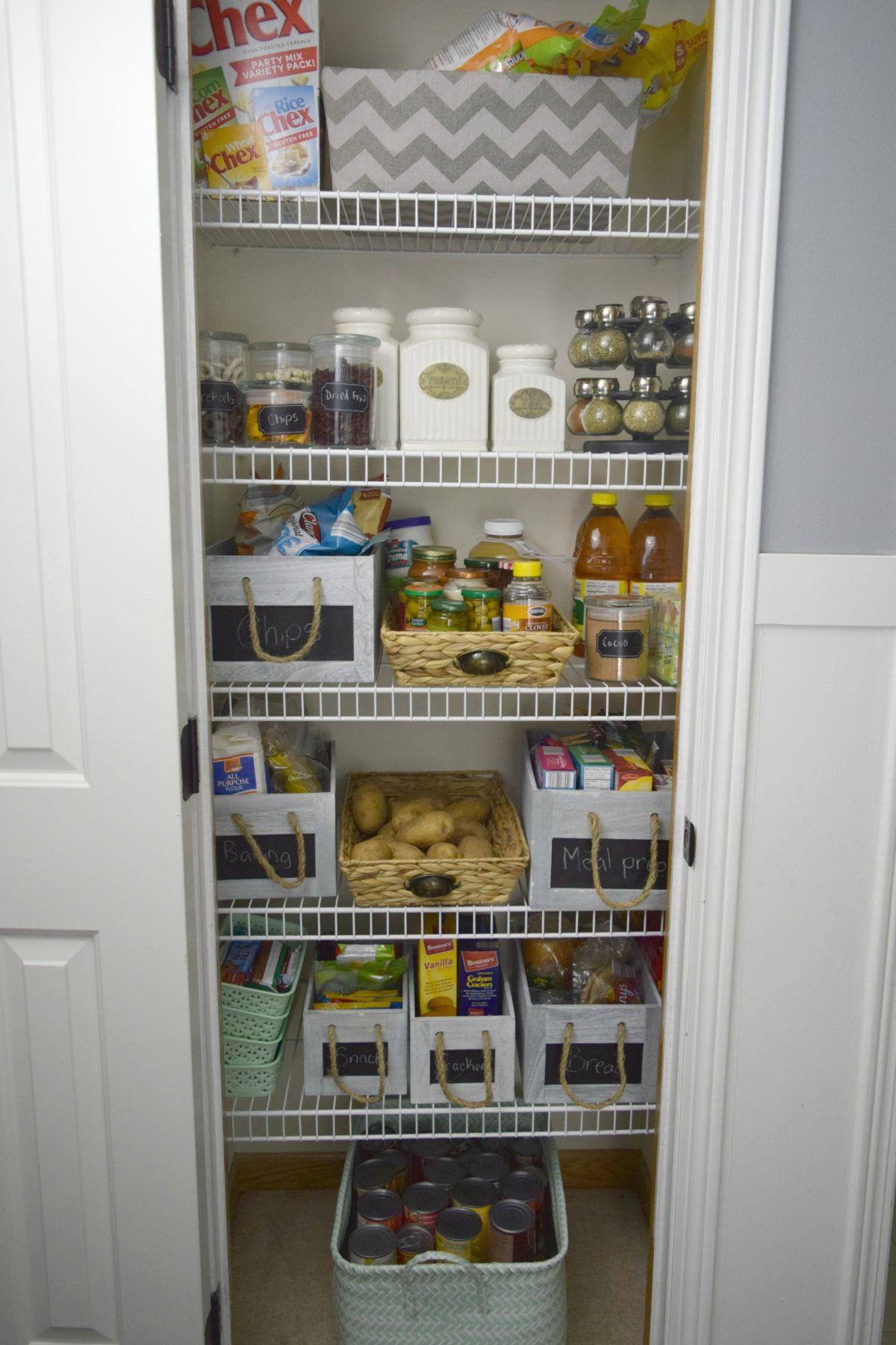 Massive pantry organization