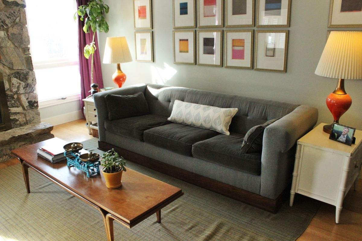 how to style a family friendly coffee table