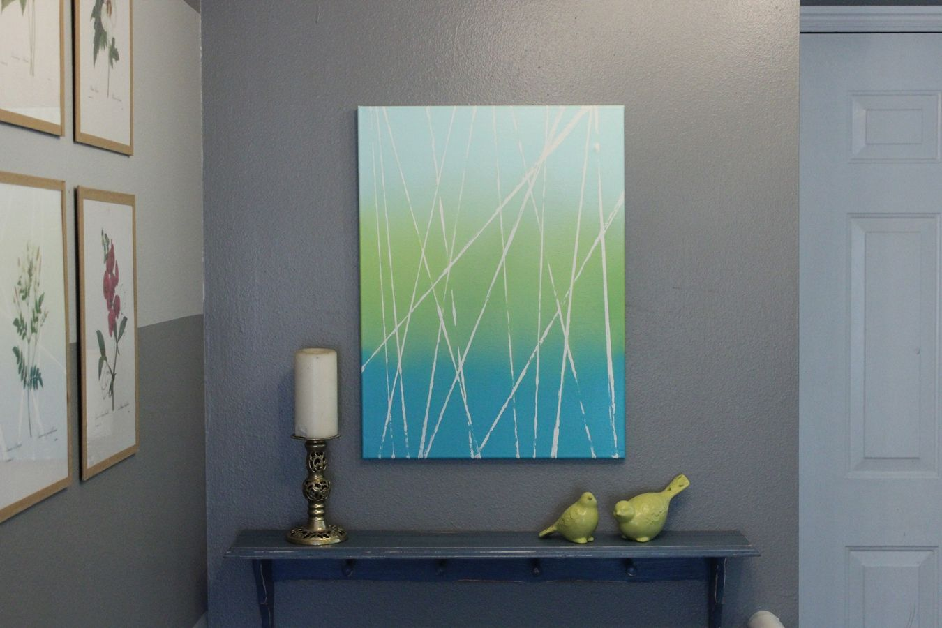 10 ways to diy modern art with spray paint modern canvas with ombre effect solutioingenieria