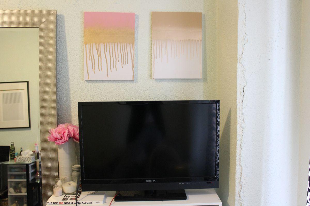 Modern Drip Canvas