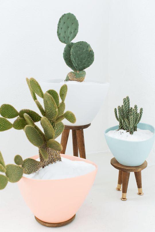 Modern Mid Century planter