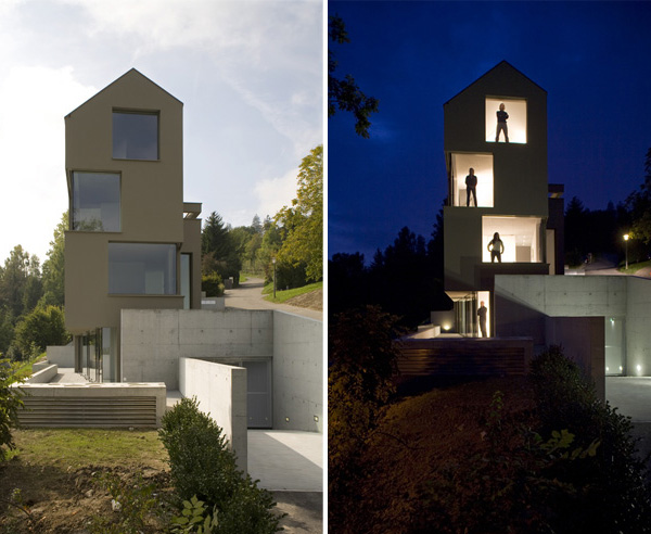 11 spectacular narrow houses and their ingenious design for Homes for small lots
