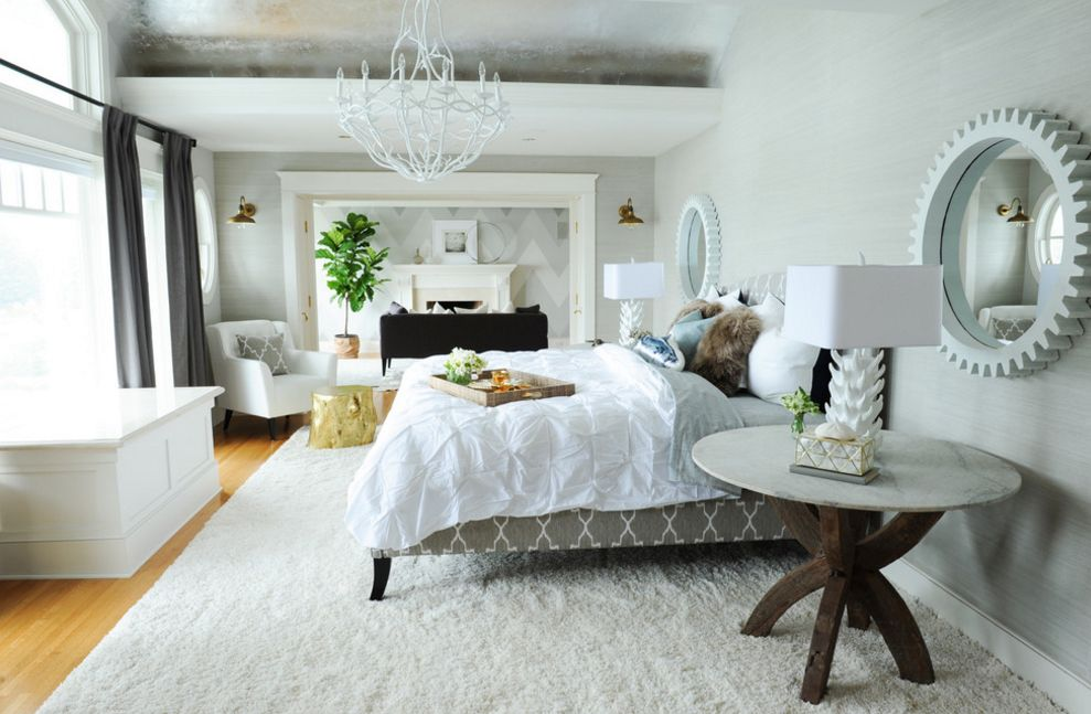 Neutral white can be beautifully