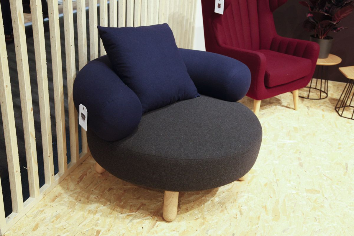 Oooja Low Chair at Scandinavian Design