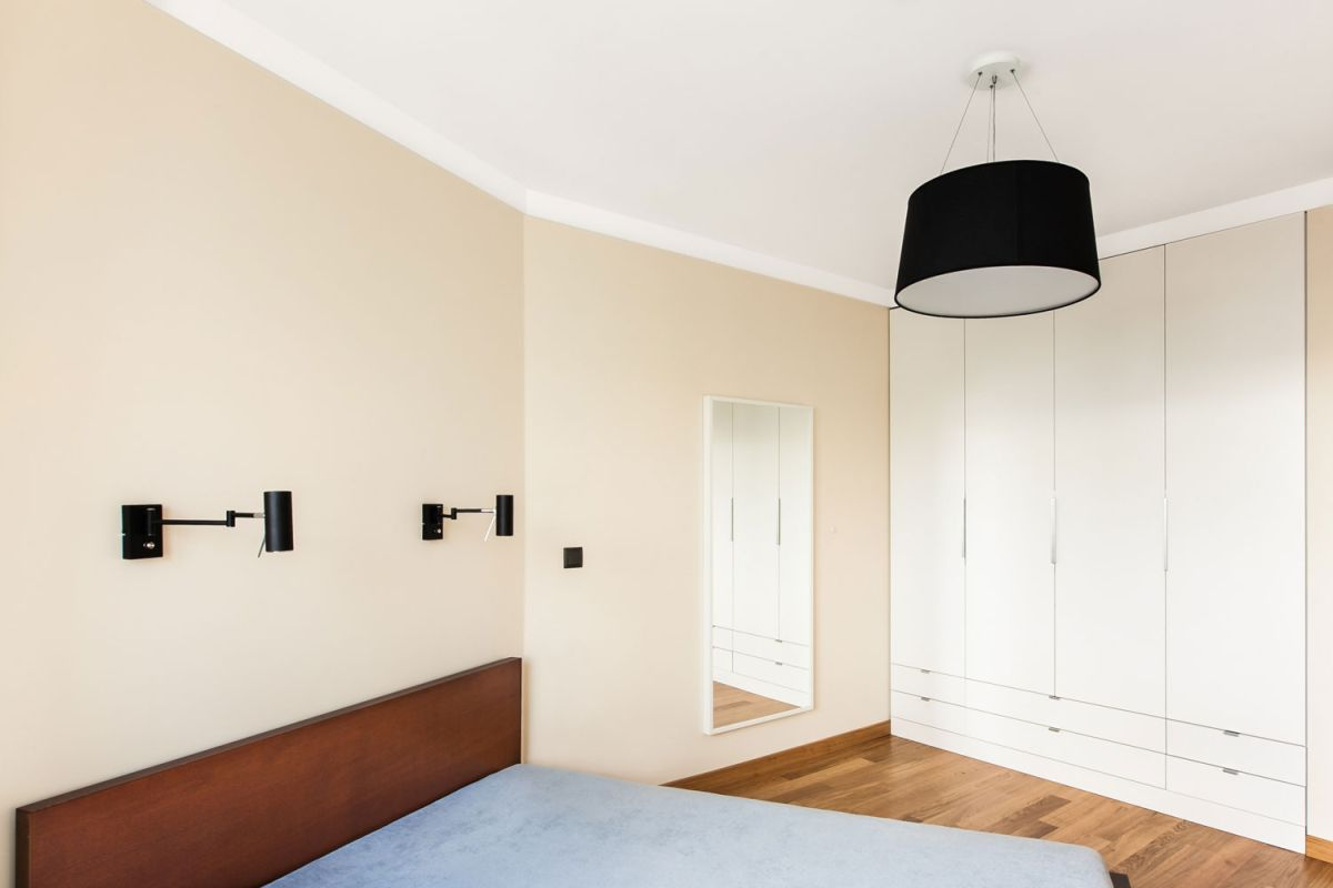 Open apartment by modelina bedroom minimalism