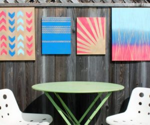 10 Ways to DIY Modern Art with Spray Paint