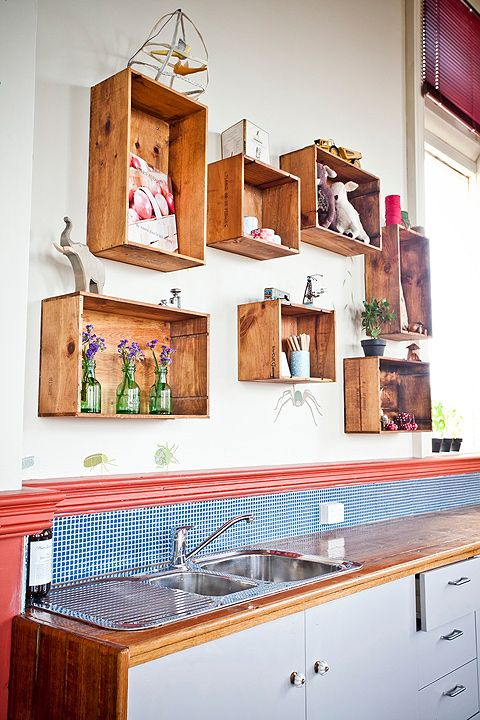 Over the sink storage
