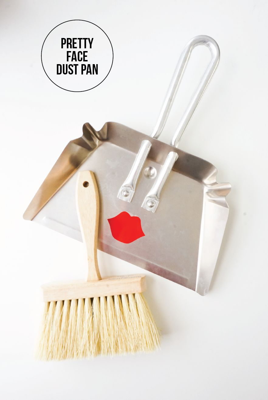 Pretty Face Dustpan DIY